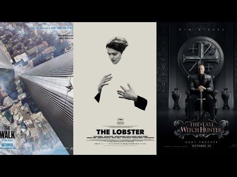FasCiné #41 (The Walk, The Lobster, Le Dernier Chasseur De Sorcières) + BONUS streaming vf