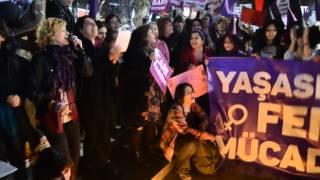 8 Mart Dünya Kadınlar Günü Feminist Gece Eylemi&Yürüyüşü