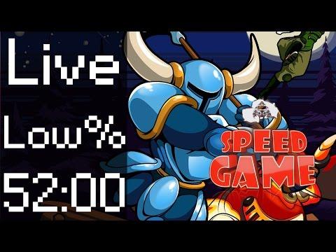 Speed Game: Live Shovel Knight Low% par Exploud