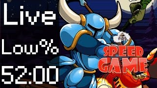 Speed Game: Live Shovel Knight Low% par Exploud