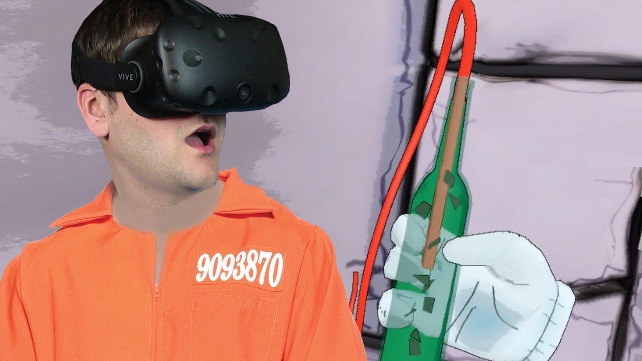 NOWE WIĘZIENIE, NOWA CELA – Prison Boss VR (#4) HTC VIVE VR