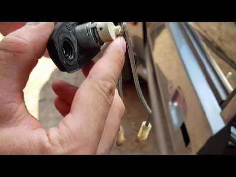 Ремонт замка двери ВАЗ-2115