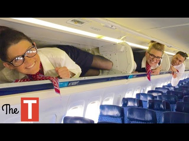 Top 10 Airlines - 10 CRAZIEST Things People Have Done On Planes
