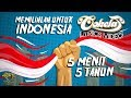 COKELAT BAND - 5 MENIT, 5 TAHUN OFFICIAL LYRICS VIDEO