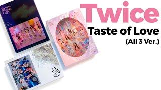 Unboxing Twice Taste of Love Mini Album Vol. 10 / Quick Look