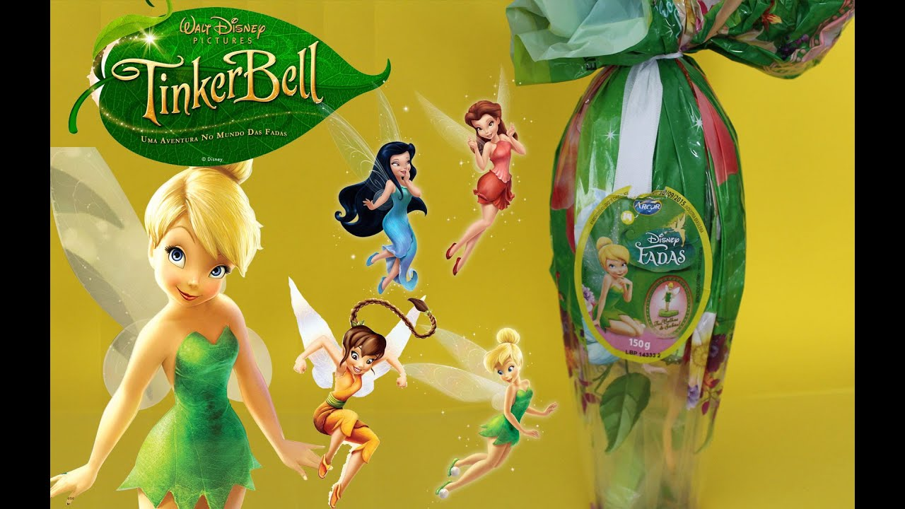Surprise Eggs Disney Fairies Tinker Bell Ovo De Pascoa Fadas