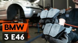 Как заменить тормозные колодки переднего дискового тормоза на BMW 3 (E46) [ВИДЕОУРОК AUTODOC]