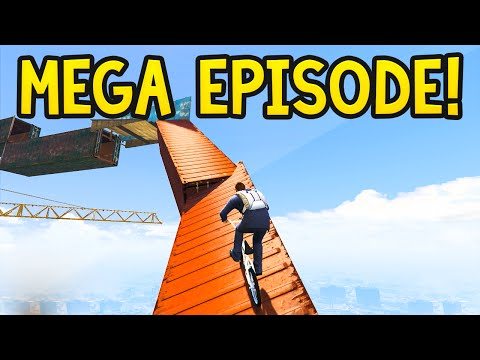 EXTRA HARD MEGA EPISODE! GTA 5 Funny Moments: Olli43 vs Geo2