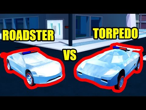 Can The Roadster Beat The Torpedo Roblox Jailbreak Youtube
