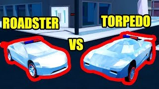 CAN the ROADSTER BEAT the TORPEDO??? | Roblox Jailbreak