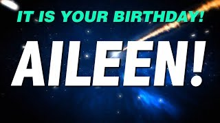 HAPPY BIRTHDAY AILEEN! This is your gift.