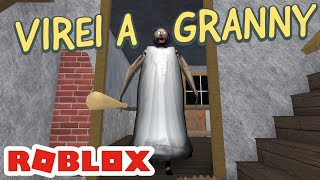I TURNED TO GRANNY, EVERYBODY DIED? -GRANNY sur ROBLOX