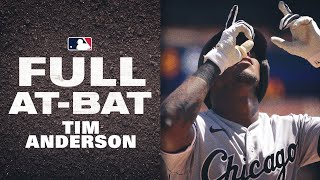White Sox Tim Anderson SMASHES lead-off homer in epic 10-pitch at-bat!