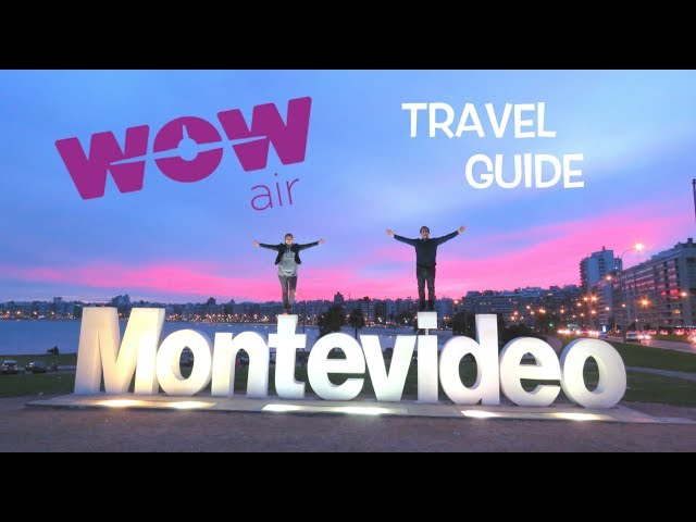 WOW air Travel Guide Application - MONTEVIDEO
