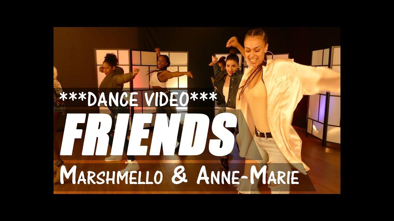 Marshmello Anne Marie Friends Dance Music Video