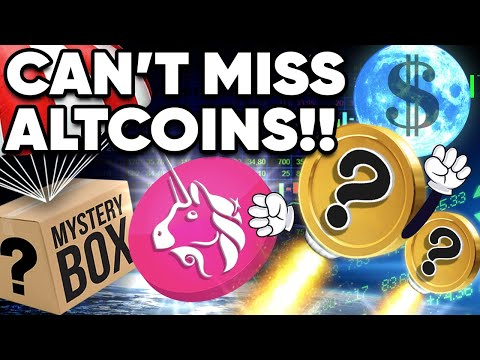 3 ALTCOINs Ready to MOON!! Plus A Uniswap v3 Airdrop!?