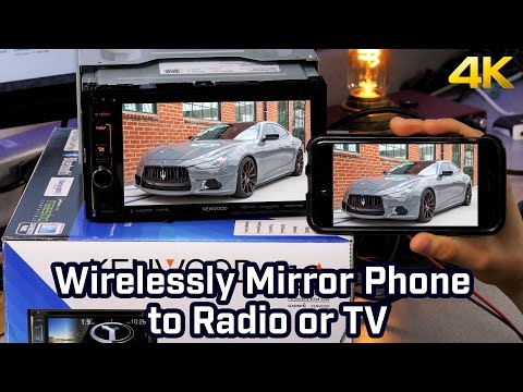 Wirelessly Mirror Phone to Radio, TV or Display - iPhone and HDMI