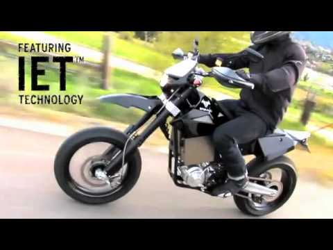 Brammo Engage Launch - 6 speed electric motorcycle