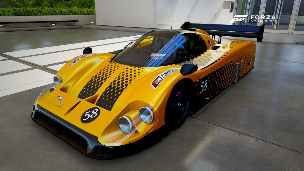 Forza Motorsport 6 - 1988 Jaguar XJR 9 - YouTube