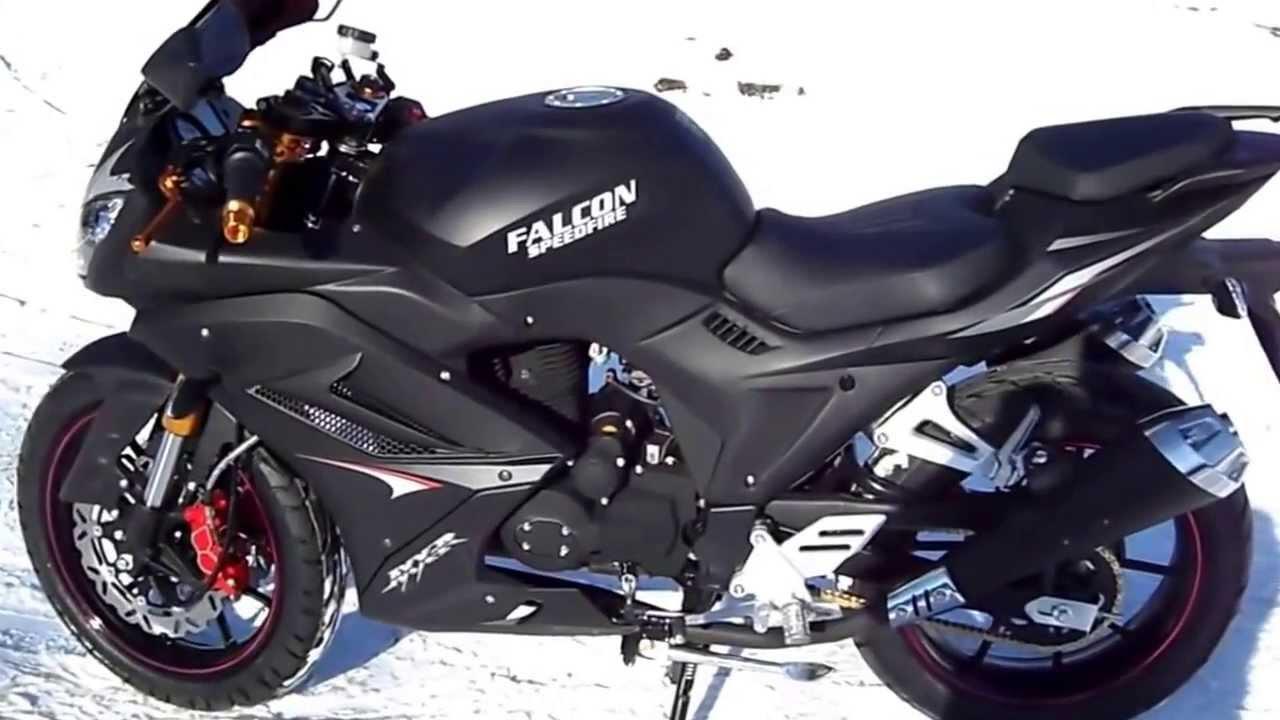 Мотоцикл спортивный «FALCON SPEEDFIRE» 250 сс - YouTube
