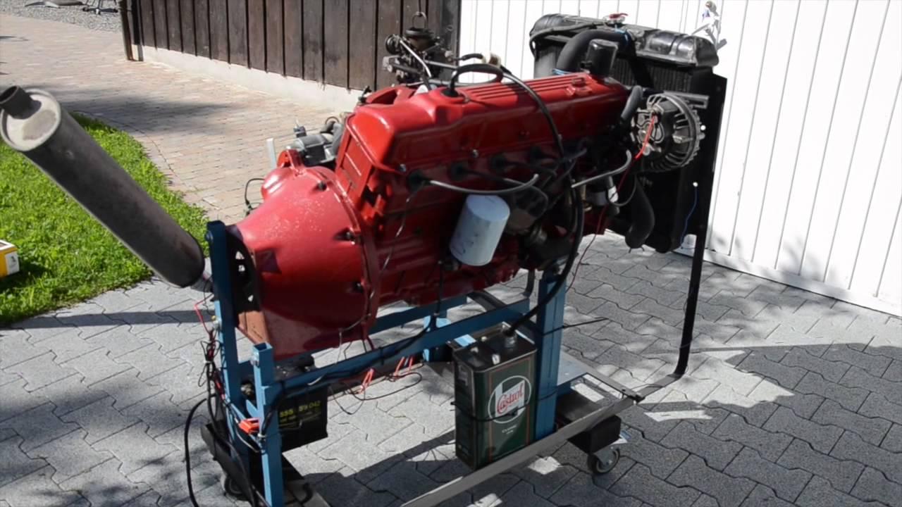 Slant Six Engine 1968 Valiant Youtube