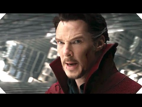 DOCTOR STRANGE Movie TRAILER # 2 (Comic Con 2016)
