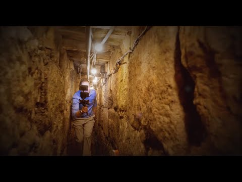 Underground Journey from the City of David to the Temple Mount Foundation Stones