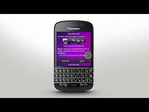 Getting Started Blackberry Q10