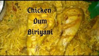 Chicken Dum Biriyani/Chicken Biriyani