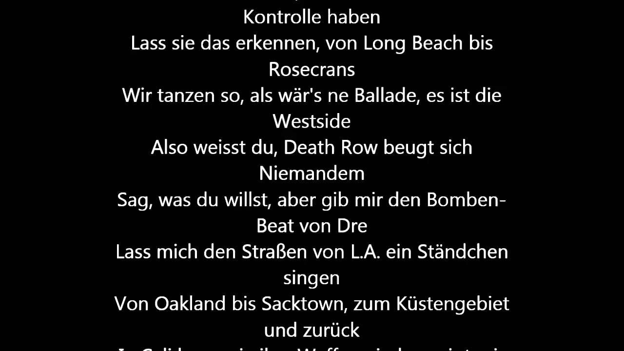 lass Liebe live Texte