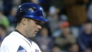 Wright gets the first Mets hit at Citi Field in 2009