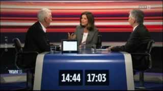 05. TV-Konfrontation 05.09.13 Faymann vs.  Stronach