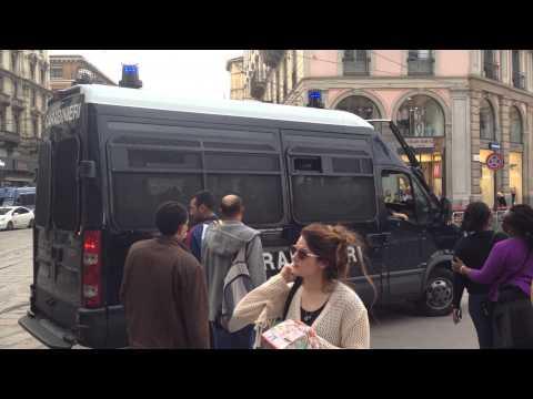 Carabinieri Duomo Milano