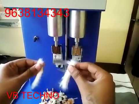 Repeat Cotton Wick Making Machine Made In India 9638134343