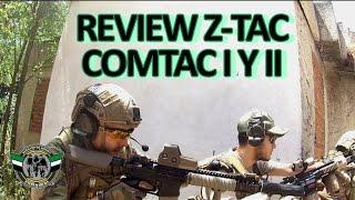 Review Z-Tactical Comtac I y Comtac II Español - Hermanos de Airsoft