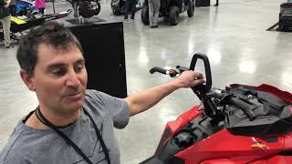 Ski-Doo - Spring Fever Lava Red Summit and Accessories for 2019