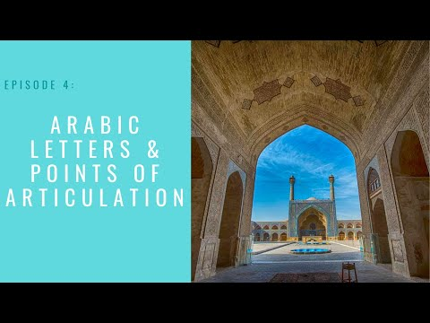 Arabic Letters and Points of Articulation | Qari Zuhair Hussaini