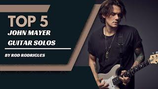 John Mayer Top 5 Guitar Solos by Rod Rodrigues