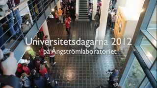 Repeat youtube video Intervjuer - Universitetsdagarna på Uppsala universitet