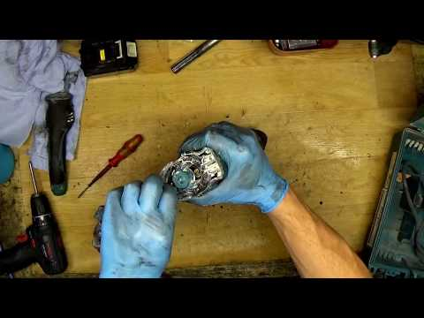 How to change repair carbon brushes for Makita rotary hammer drill HR2300 HR2610 HR2630 HR2470