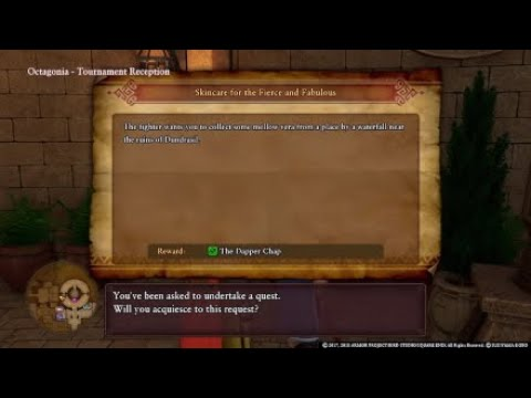 Dragon Quest 11 Sidequest Skincare For The Fierce And Fabulous Youtube