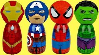 AVENGERS Body Bath Wash with Spiderman, Ironman & Captan America
