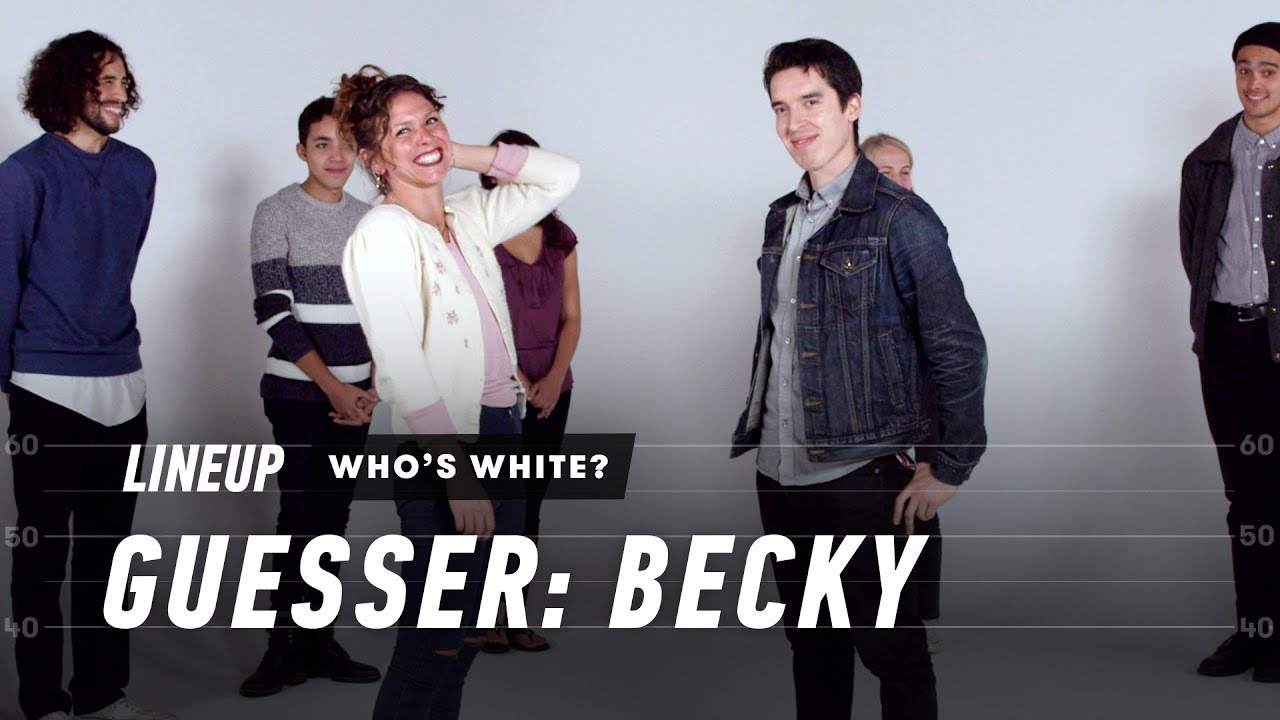 Guess Who's White (Becky)   Lineup   Cut