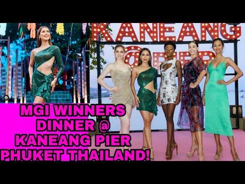MGI 2020 Winners Dinner at Kaneang Pier Phuket Thailand