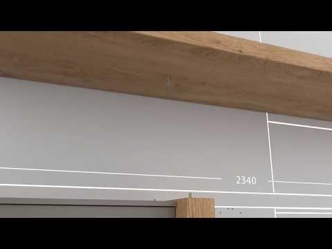 Montaggio Sistema Atlante: mobili contenitori