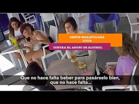 Gente Maravillosa contra el abuso al alcohol | Lidia