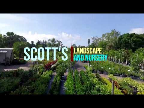 Scott's Landscape Nursery garden center north fort myers