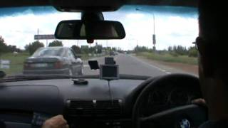 Police Flying Squad Respond to accident in BMW 330i (Part 1)