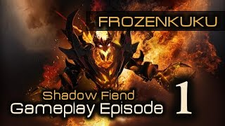 Shadow Fiend (SF) | DOTA 2 Gameplay Episode 1