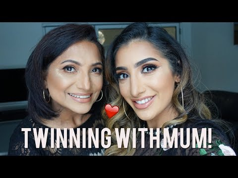 Turning My Mum Into ME - Mother's Day Makeup Tutorial